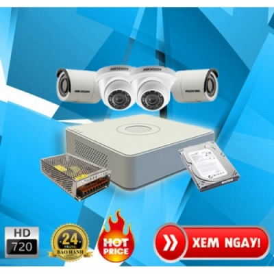Trọn bộ camera KbVision 2.0 MP Korea