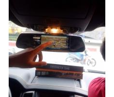 Vietmap p2 - Camera hành trình trên Gương android dẫn đường, 2 mắt.